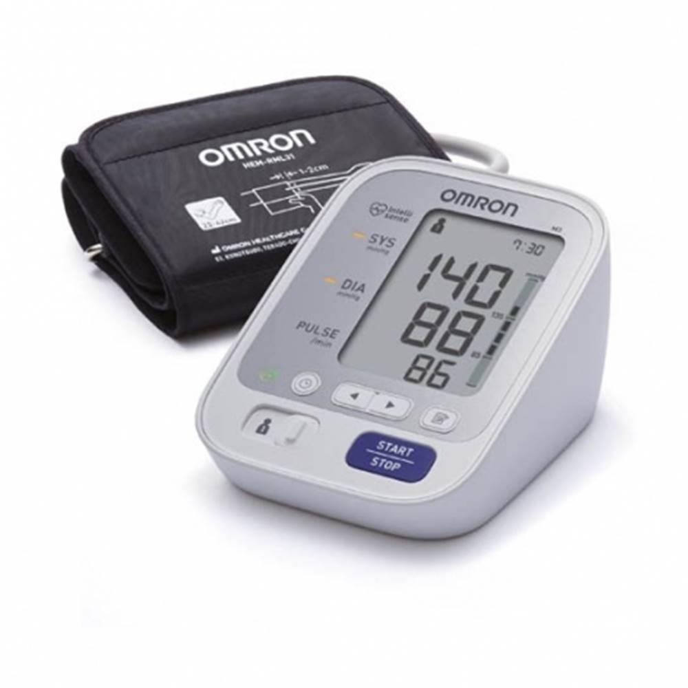 OMRON M3 Digitálny tlakomer automatický na rameno s predĺženou manžetou s adaptérom 1 ks