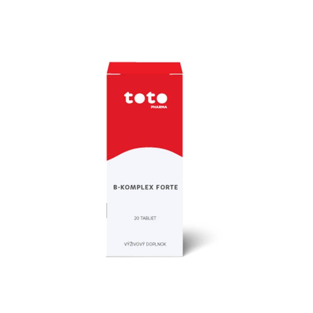 TOTO B-komplex forte 20 cps