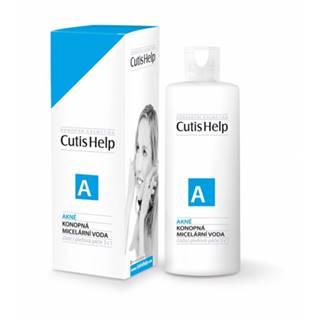 CutisHelp AKNÉ (odličovacia a čistiaca) konopná micelárna voda 200 ml