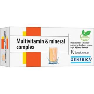 Generica Multivitamin & mineral complex 10 šumivých tabliet