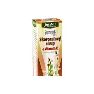 JutaVit Skorocelový sirup + vitamín C 300 ml