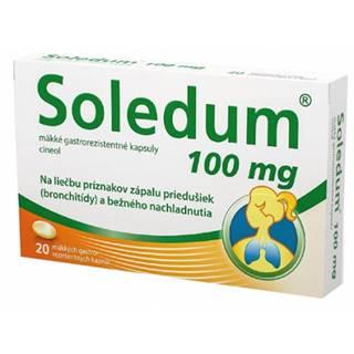 Soledum 100 mg mäkké gastrorezistentné kapsuly 20 cps