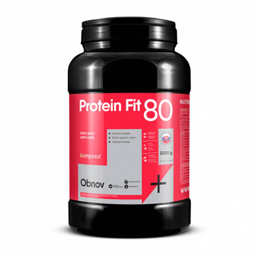 KOMPAVA ProteinFit 80 vanilka 66 dávok
