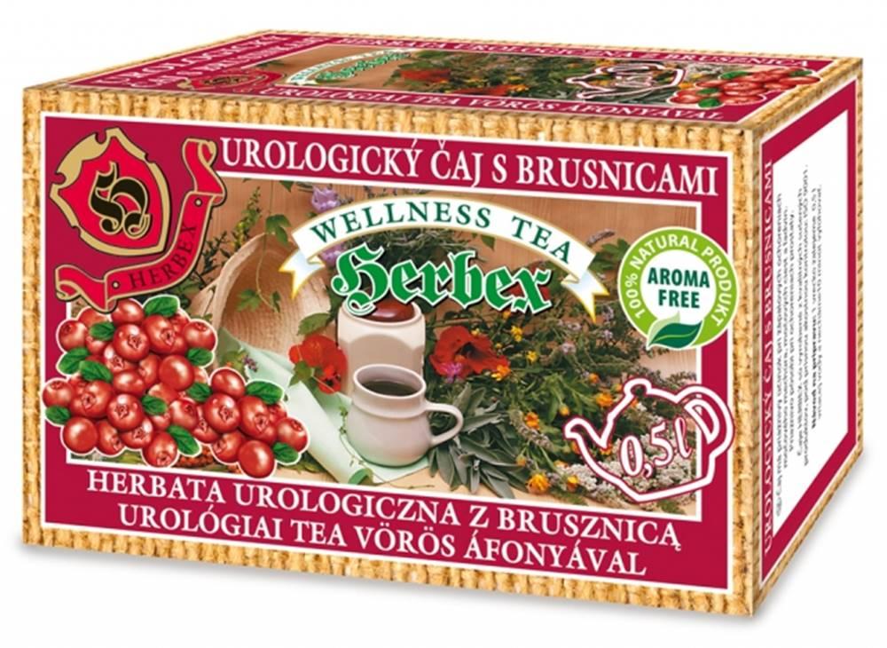 Herbex Herbex urologický čaj s brusnicami