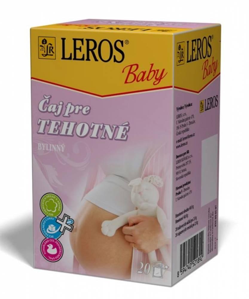 Leros Leros Baby Čaj pre tehotnÉ