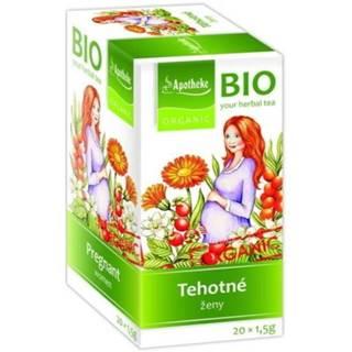 APOTHEKE BIO linný čaj pre tehotné ženy 20 x 1,5 g