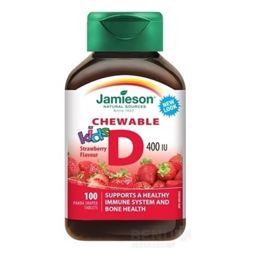 JAMIESON Vitamín D3 kids 40...