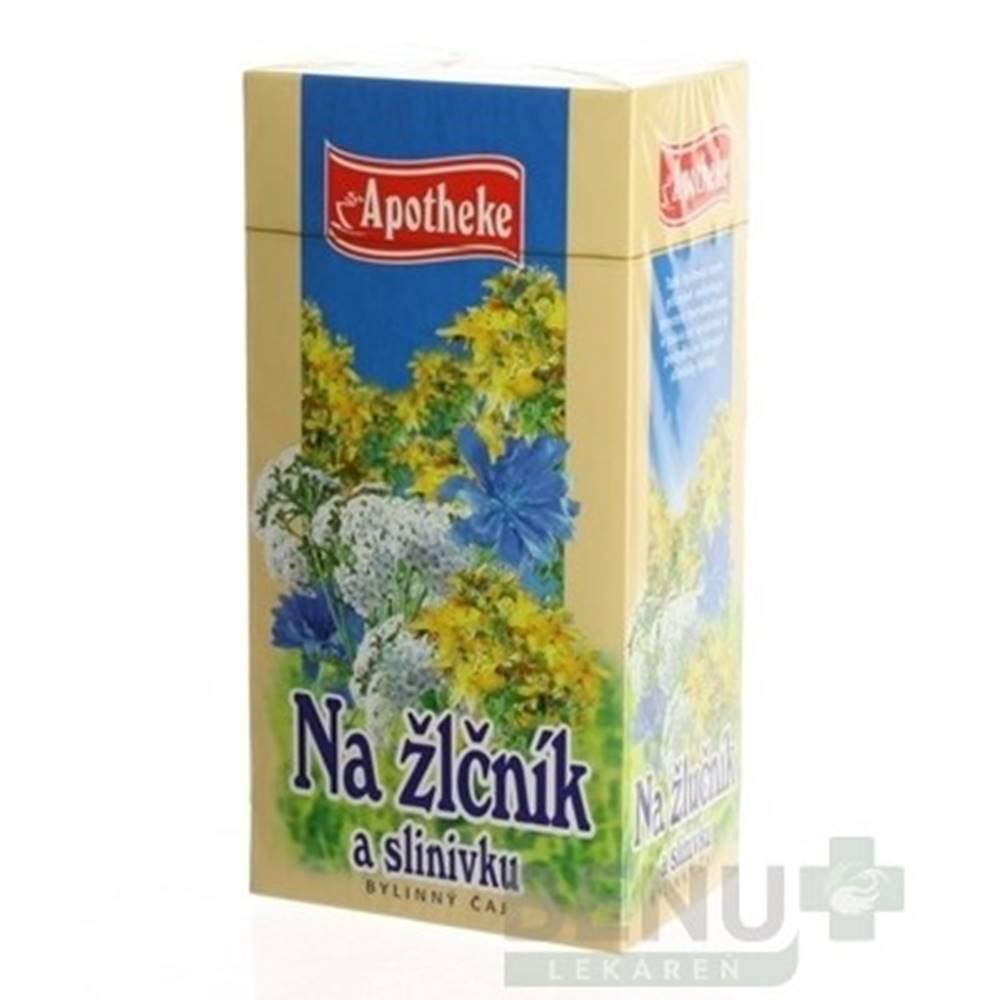 Apotheke APOTHEKE Bylinný čaj na žlčník a slinivku 20 x 1,5 g