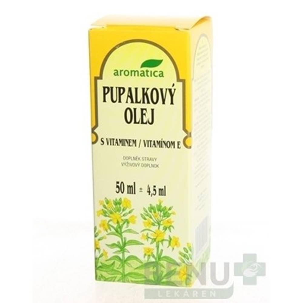 Aromatica AROMATICA Pupalkový olej s vitamínom E 50 ml