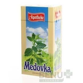 APOTHEKE Čaj medovka lekárska 20 x 1,5 g