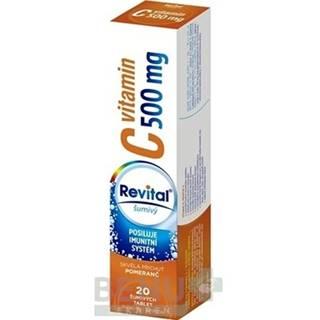 REVITAL Vitamín C 500 mg 20 šumivých tabliet