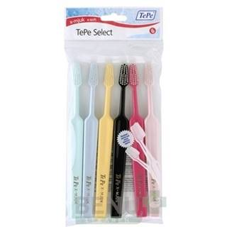 TEPE Select X-soft zubná kefka 4 + 2 kusy ZADARMO