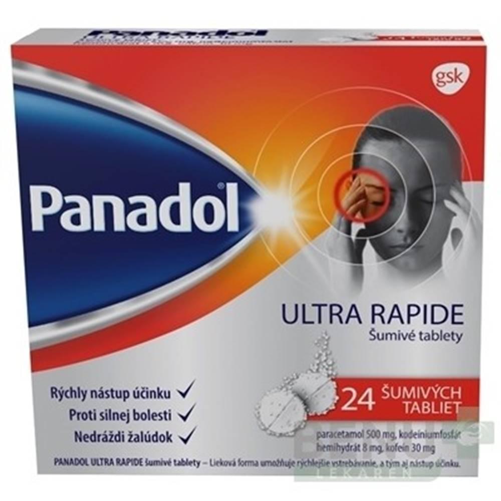 PANADOL PANADOL Ultra rapide 24 šumivých tabliet