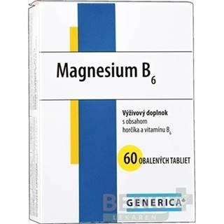 GENERICA Magnesium B6 60 tabliet