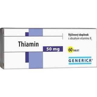 GENERICA Thiamin 50 mg 60 tabliet