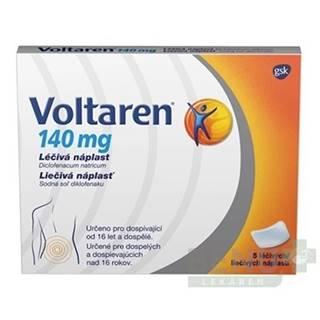 VOLTAREN 140 mg liečivá náplasť 5 kusov