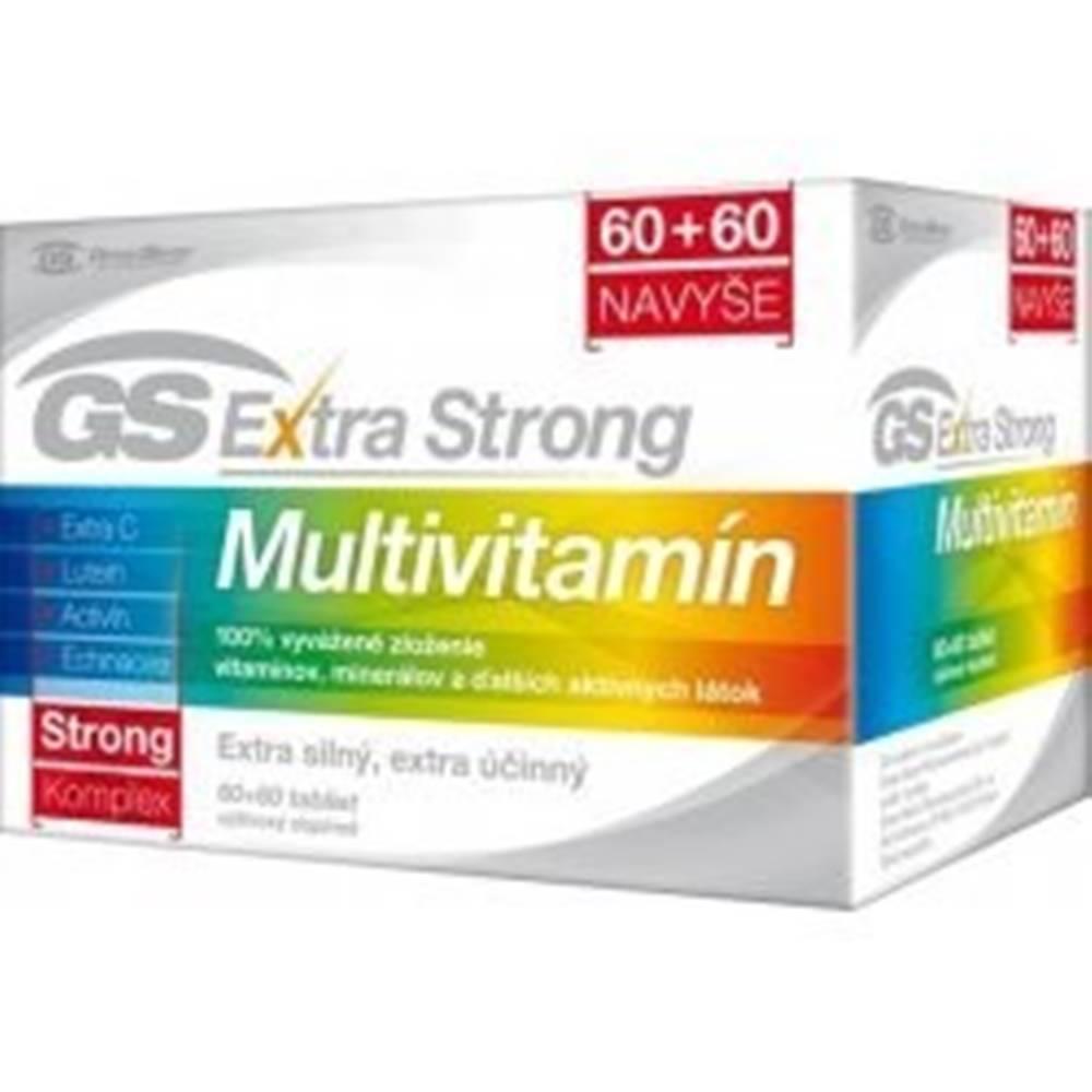 Green swan GS Extra Strong Multivitamín tbl 60+60
