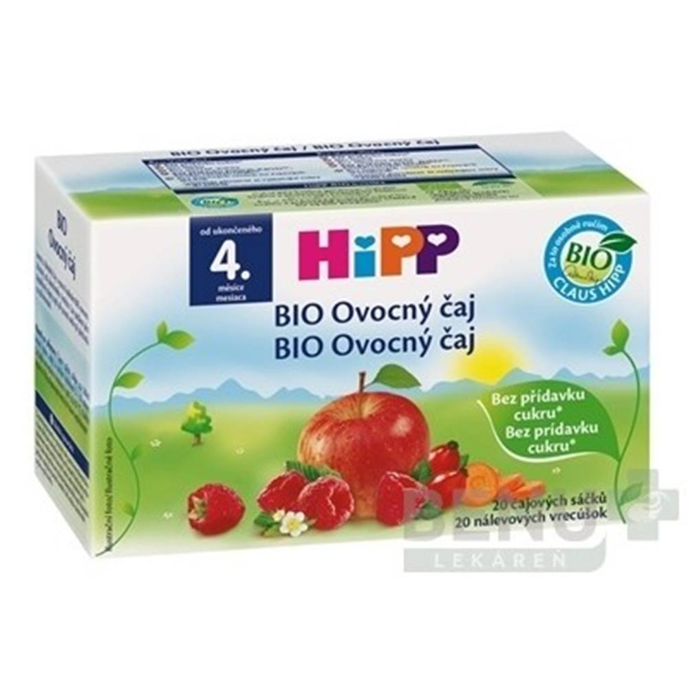 HiPP HiPP BIO Ovocný čaj 20x2 g (40 g)