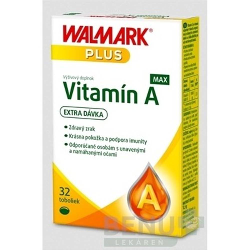 Walmark WALMARK Vitamín A MAX 32 kapsúl