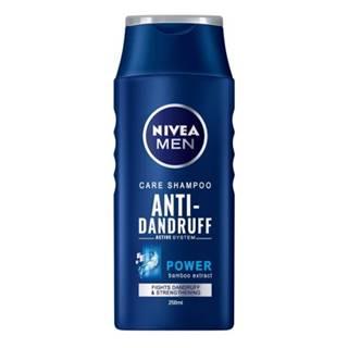 NIVEA Šampón proti lupinám pre mužov Power 250 ml