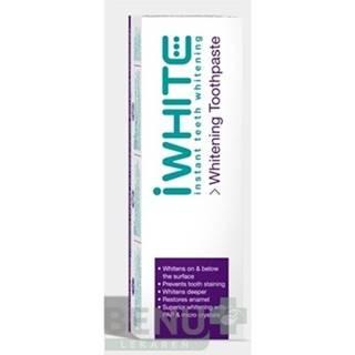 iWHITE Bieliaca zubná pasta 75 ml