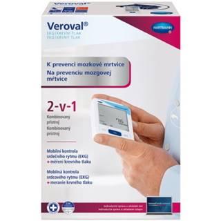 VEROVAL Prístroj 2v1 EKG a krvný tlak 1 kus