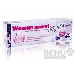 WOMAN SECRET Right time ovulačný test 20 kusov