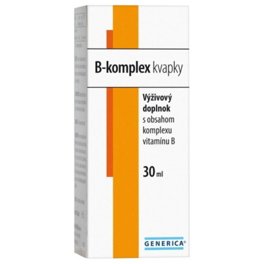Generica GENERICA B-komplex kvapky 30 ml