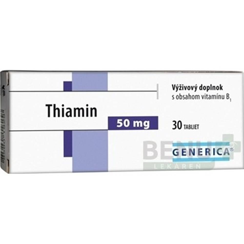 Generica GENERICA Thiamin 50 mg 30 tabliet
