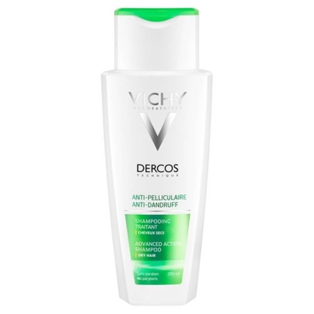 Vichy VICHY Dercos šampón proti lupinám na suché vlasy 200 ml