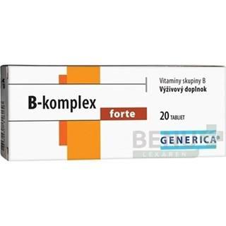 GENERICA B-komplex forte tbl 20