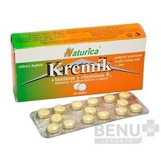 NATURICA Kremík s biotínom a vitamínom B12 30 tabliet