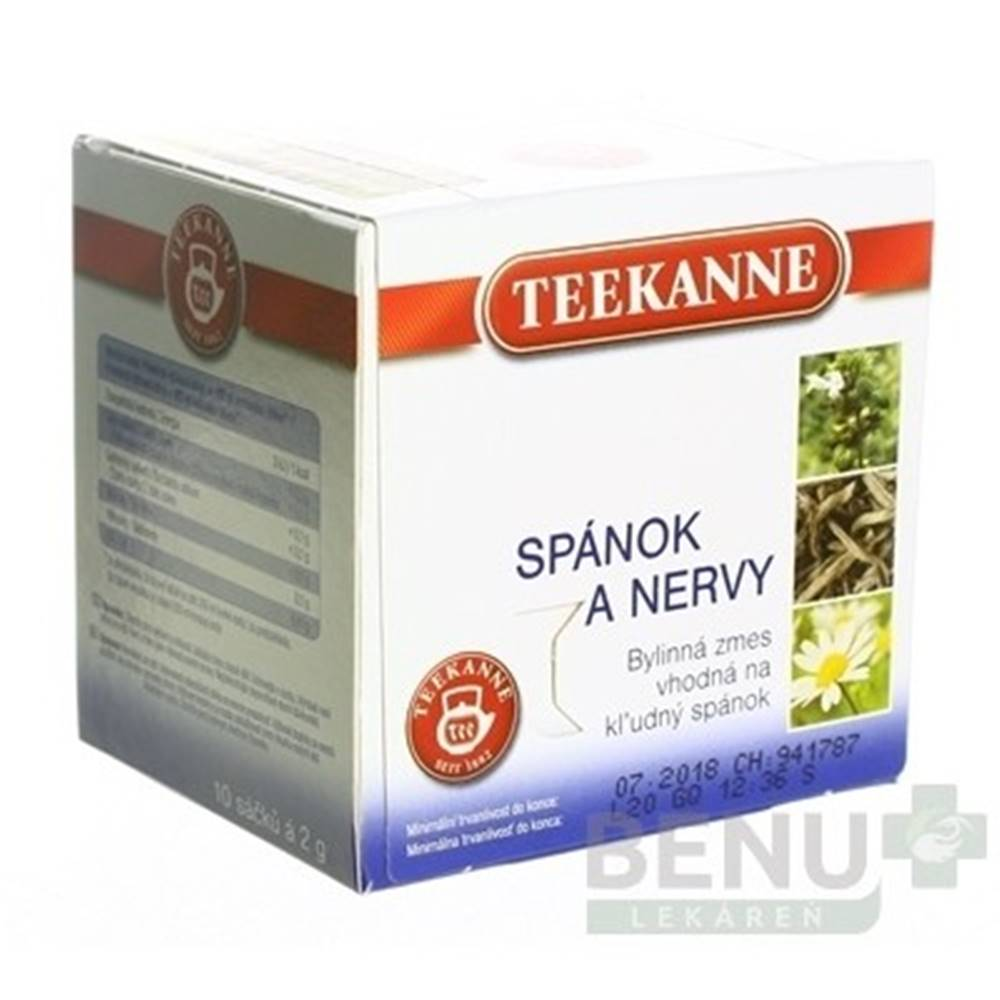 Teekanne TEEKANNE Bylinný čaj spánok a nervy 10 x 2 g