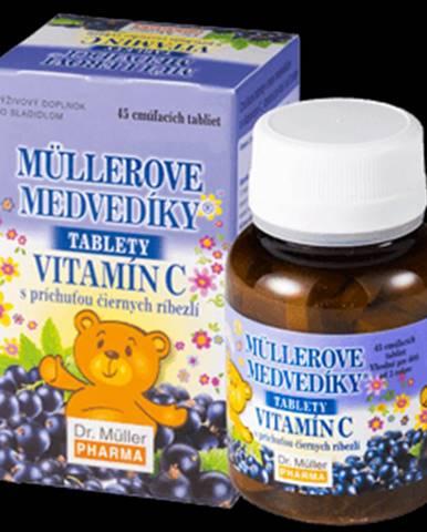 MÜLLEROVE medvedíky - vitamín C tbl 45