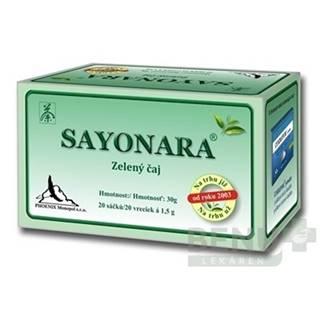 SAYONARA zelený čaj 20 x 1,5 g