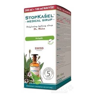 STOPKAŠEĽ Medical SIRUP - Dr.Weiss 200+100 ml navyše (300 ml) 300ml