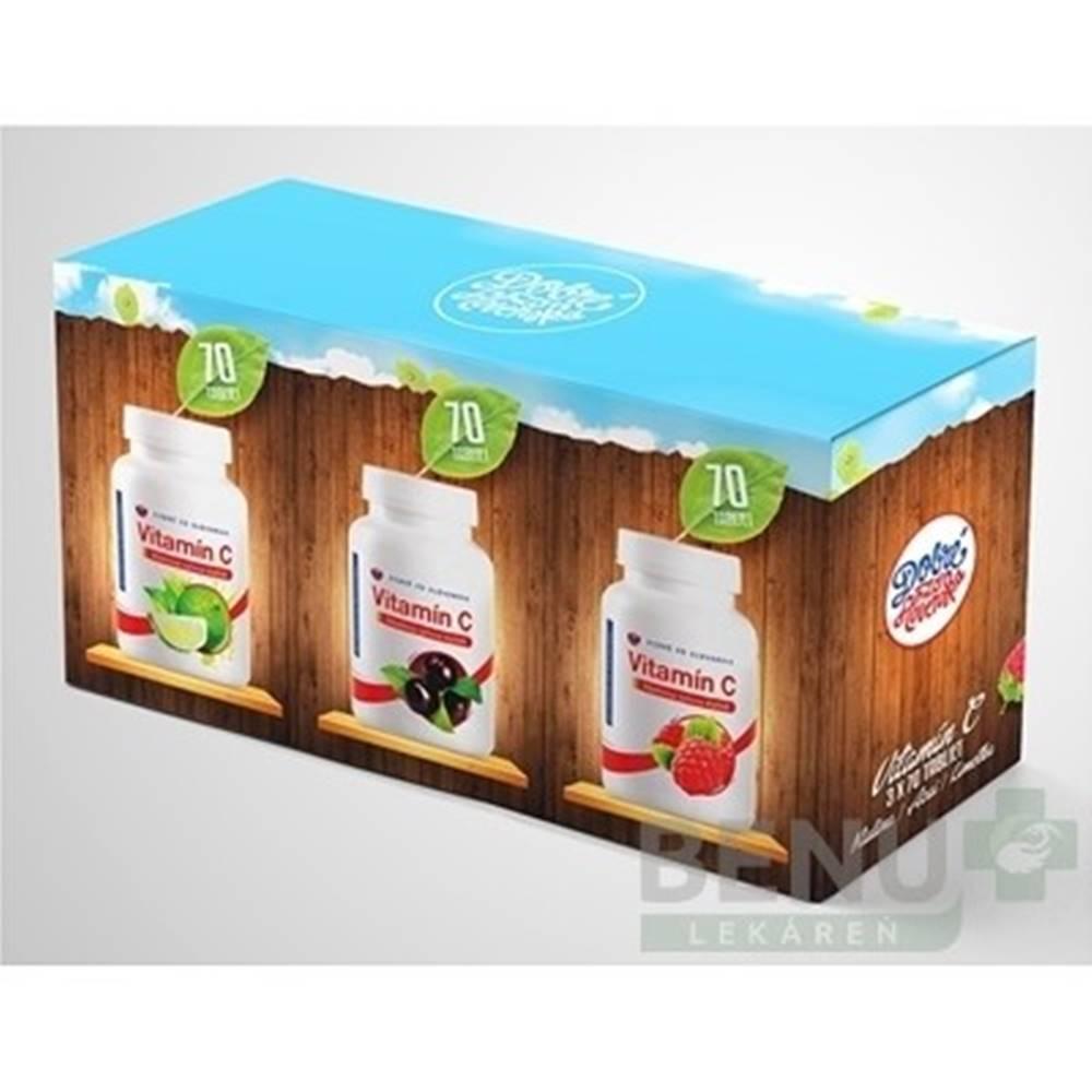 Dobré z SK Dobré z SK Vitamín C Výhodné balenie 3x70ks