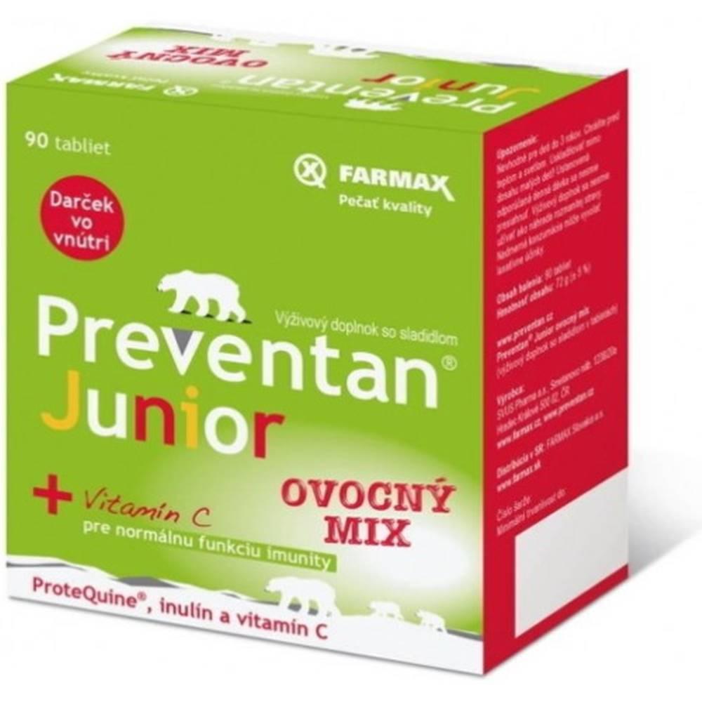 FARMAX FARMAX Preventan junior s vitamínom C 90 tabliet