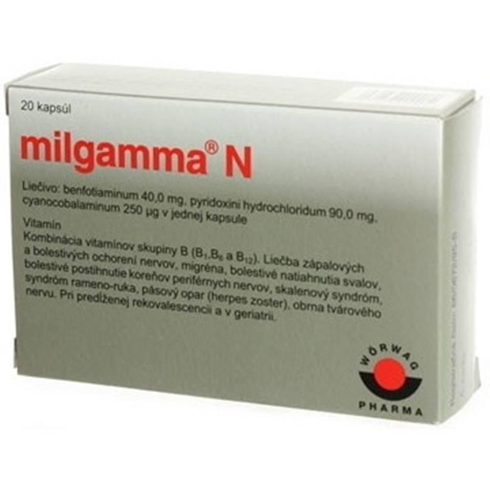MILGAMMA MILGAMMA N 20 kapsúl