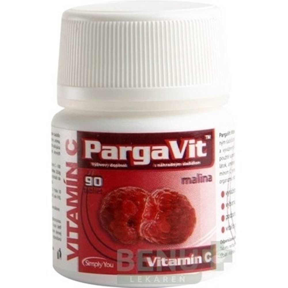 PargaVit PargaVit VITAMÍN C Malina tbl 90