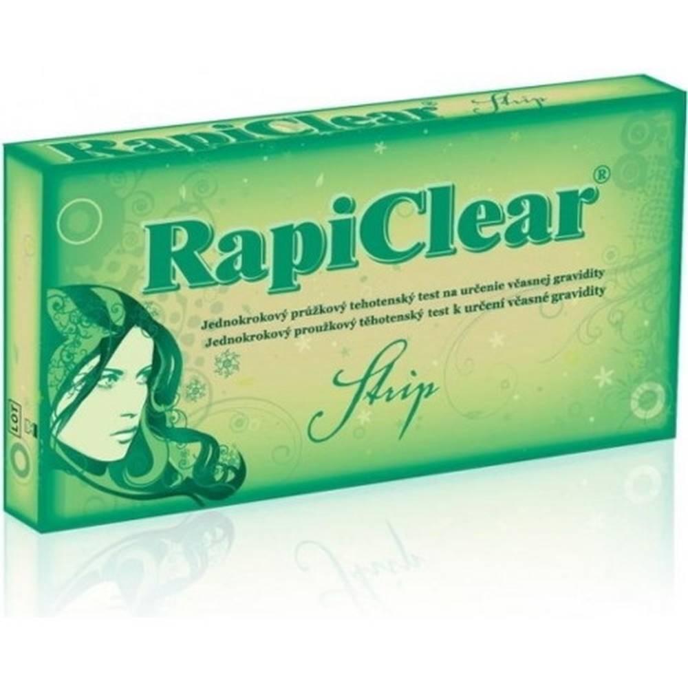 Rapiclear RAPICLEAR Tehotenský test strip 1 kus
