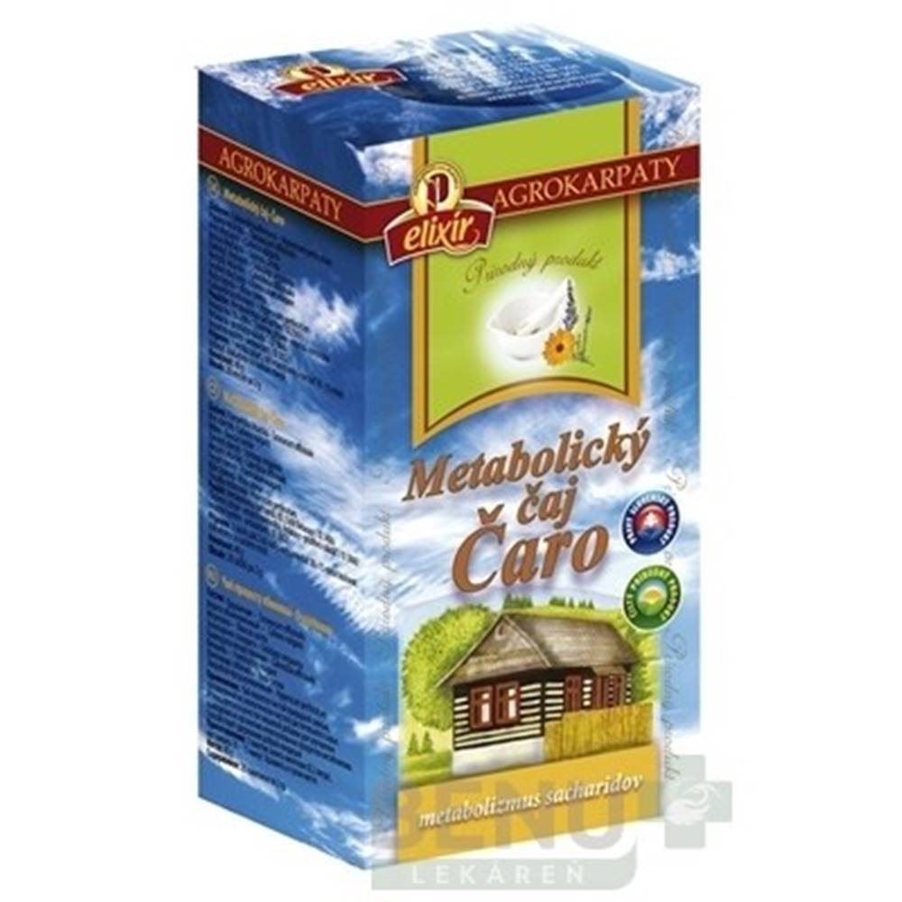 Agrokarpaty AGROKARPATY Metabolický čaj čaro 20 x 2 g