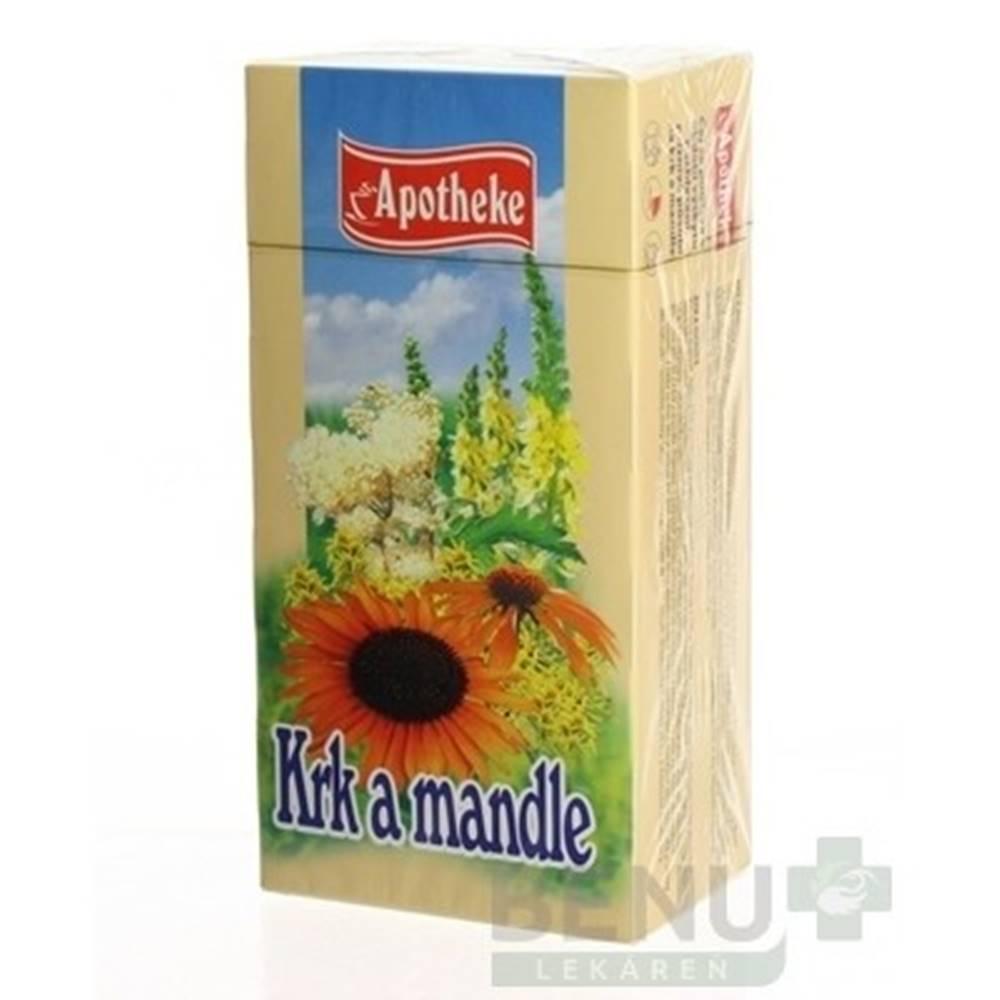 Apotheke APOTHEKE Čaj na krk a mandle 20 x 1,5 g