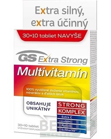 GS Extra Strong Multivitamín 2017 tbl 40