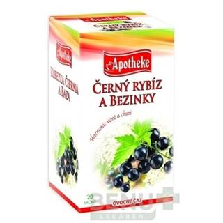 APOTHEKE Premier selection čaj ríbezľa čierna a baza 20 x 2g