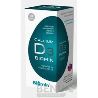 BIOMIN Calcium s vitamínom D3 30 kapsúl