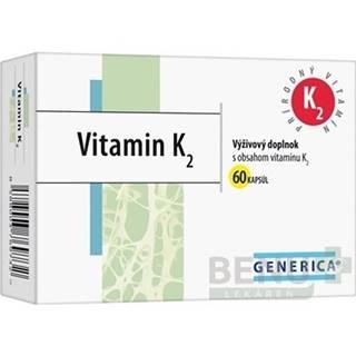 GENERICA Vitamín K2 60 kapsúl