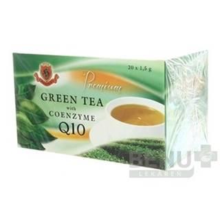 HERBEX Premium green tea s Q10 20 x 1,5g