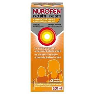 NUROFEN Sirup pre deti 200 ml