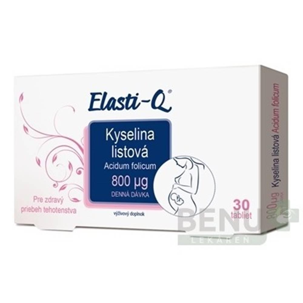 Elasti-Q ELASTI-Q Kyselina listová 800 30 tabliet